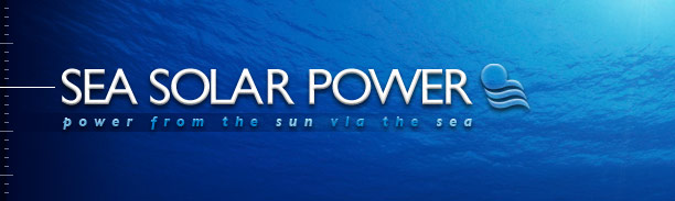 Sea Solar Power -